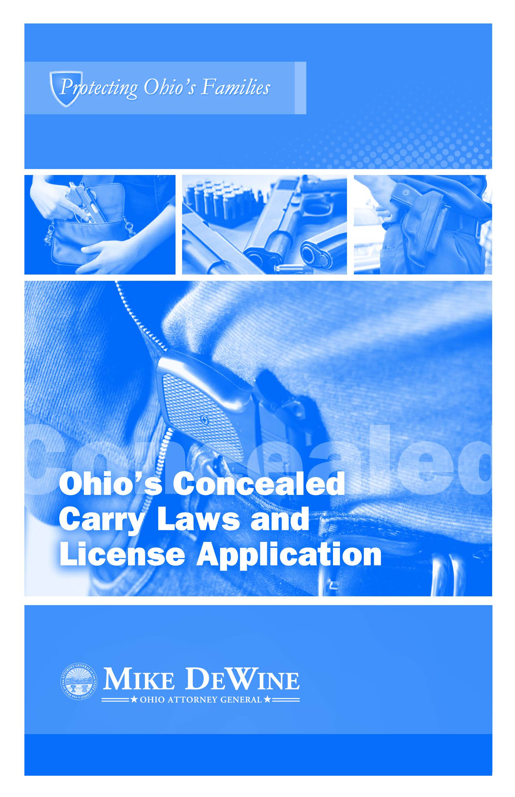CCW Booklet Application WEB